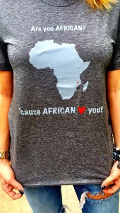 AFRICAN Love You | Available for purchase at BrookeandArrow.com | #mckeesteesplus