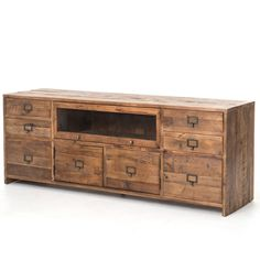 Clayton Rustic Sideboard Rustic Consoles And World Market