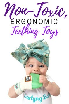 Mom invented, mom approved. Your baby will love these non toxic baby products! Click through to check out our collection of Yummy Mitts, an ergonomic teething mitten for babies.