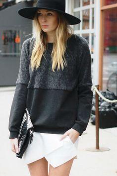 Skort ... Look from Zara