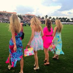 Lilly Pulitzer at International Polo Club Palm Beach
