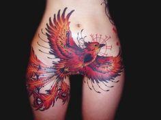 ¿Que relacion simbolica existirá entre un ave y el vientre de una mujer?. #Tattoo