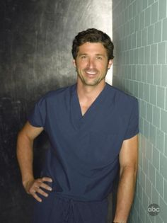 30 Day Grey's Anatomy Challenge - Day 1: Favorite male character.  This one was hard, but I think McDreamy has a slight advantage.