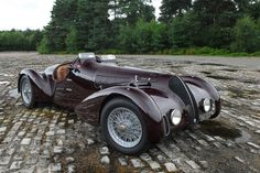 "archaictires: "" 1939 Alfa Romeo 6C SS Spider Corsa """