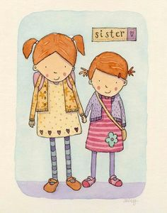 Sisters by Claire Keay