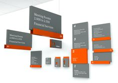 PricewaterhouseCoopers (PwC) Signage Program - Wolff Olins