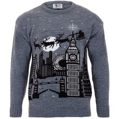 Wear London and Santa with this Christmas jumper.