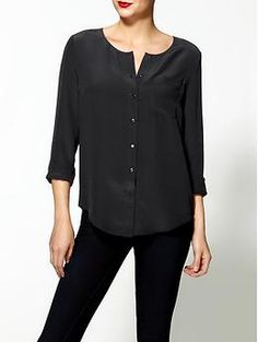 Tinley Road Silk Sophia Blouse | Piperlime