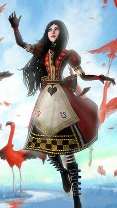 alice red queen cheshire cat yaya cosplay deviantart