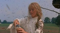 And when Idgie dipped her arm into a beehive just to get Ruth some wild honey in <i>Fried Green Tomatoes</i>.