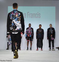 Modeconnect.com - Nyoka Francis Northampton University at #GFW2015 - @UniNorthants #GFW15 #Fashion #FashionGrad