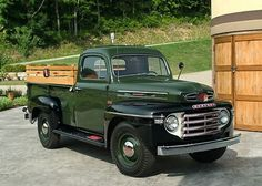1948 Mercury Pickup. Mercury was the Ford truck for Canada, Australia and New Zealand.