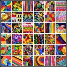 artesanía- colores