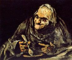 Black Paintings - Goya Oil Painting Reproductions