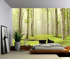 Picture Sensations Canvas Texture Wall Mural, Landscape F...