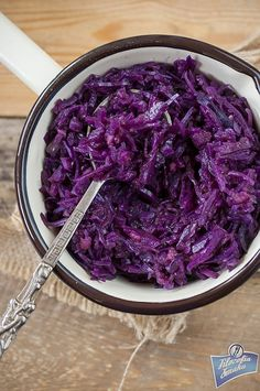 Czerwona kapusta zasmażana Polish Recipes, Polish Food, Red Cabbage, Salad Recipes, Fries, Grilling, Food And Drink, Cooking Recipes, Dinner