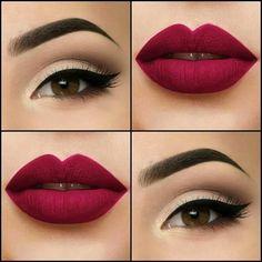 Beautiful lips&eyes