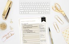 Ultimate Blog Planner Kit | Free Printable | Designer Blogs