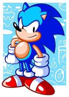 They call him . . . Sonic by JamesmanTheRegenold.deviantart.com on @deviantART