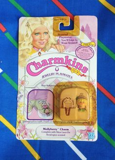 Vintage 1984 Charmkins MOLLYBERRY molly berry by LittleToyLost