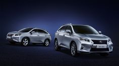 Lexus RX 270 (Left) and RX 350 F Sports (Right) models