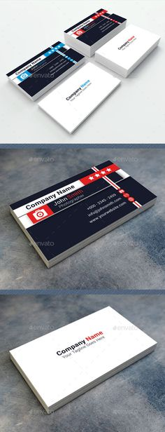 Free stylish modern tab design business card template business photographer business card reheart Images