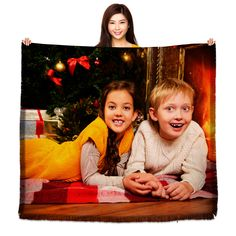 HD Tapestry Woven Photo Blanket - 60