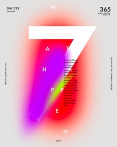 Baugasm by Vasjen Katro: One Poster a Day for 365 Days | Inspiration Grid | Design Inspiration