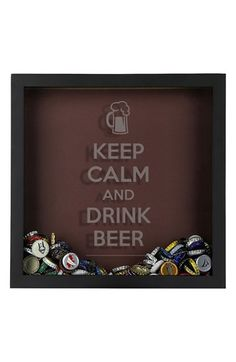 BeerCapTrap Beer Cap Shadow Box available at #Nordstrom