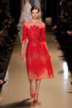 Fashion Show: Elie Saab Haute Couture Spring 2013 (2 часть)