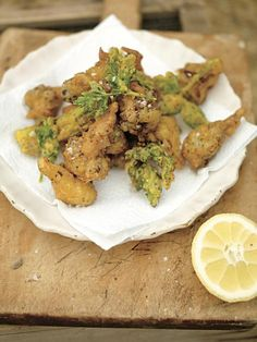curried cauliflower fritters | Jamie Oliver | Food | Jamie Oliver (UK)