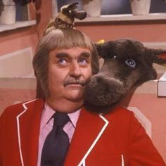 Captain Kangaroo with Mr. Moose and Bunny Rabbit. LOVED this show! Wish the shows would come out on DVD. Captain Kangaroo, Before I Forget, Nostalgia, Cinema, Baby Boomer, Old Shows, Childhood Toys, My Childhood Memories, Ol Days