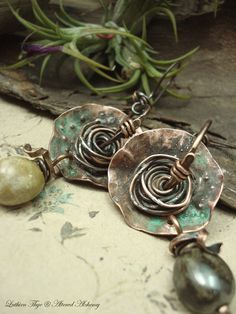 Hey, I found this really awesome Etsy listing at https://www.etsy.com/ru/listing/230778842/lilyros-copper-earrings