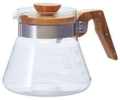 Hario VCWN-60-OV V60 Coffee Server, 600 ml, Olive Wood ** Continue to the product at the image link.