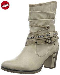 Mustang Damen 1199-504 Kurzschaft Stiefel, Elfenbein (243 Ivory), 41 EU (*Partner-Link)