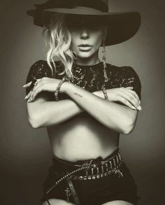 Lady Gaga via Harpers Bazaar