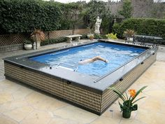 Swim spas are a great solution for small spaces and can be installed outside or indoors │Endless Pools http://www.poolspaoutdoor.com/buyers-guide/swim-spas/endless-pools.aspx