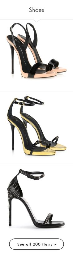 """""""Shoes"""" by bliznec-anna ❤ liked on Polyvore featuring shoes, sandals, heels, high heels, heeled sandals, high heeled footwear, high heel shoes, giuseppe zanotti, giuseppe zanotti sandals and giuseppe zanotti shoes"""