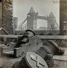 Under construction - London's Tower Bridge