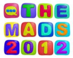 Thanks for nominating Major Love of Film for a MAD blog award 2012 for best family fun blog.  Wow!