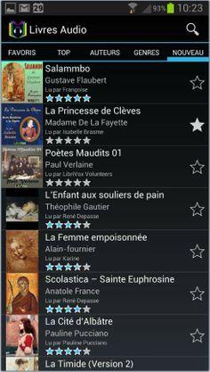 15 000 livres à écouter sur Android, Livres Audio | Les Infos de Ballajack