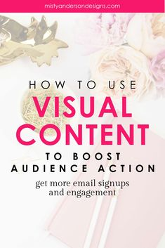 Visual content has the ability to make your audience take action. Like sign up for email list, make a purchase, or share your content. Learn how to use visuals to make a big impact on your audience. branding | brand design | brand identity design | brand you blog | brand yourself | visual content | visual content strategy | social media tips | email marketing | email marketing tips | #visualcontentstrategy #smallbusinesstips #bloggingtips #socialmediatips #visualcontentmarketing