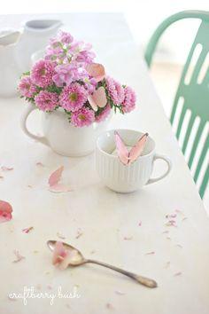 Butterfly Tea Bag Tag