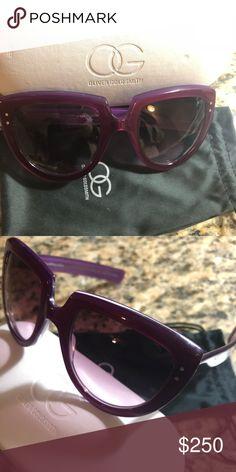 055313e423 Oliver Goldsmith sunglasses A beautiful purple Oliver Goldsmith Y-Not  sunglasses Big enough to hide