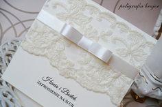 zaproszenia slubne z koronką - Szukaj w Google Wedding Invitations, Wedding Inspiration, Cards, Google, Ideas, Civil Wedding, Marriage Invitation Card, Invitations, Wedding Cards
