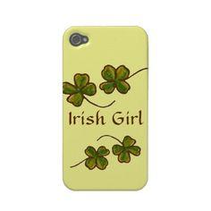 Irish Girl iPhone 4 Case