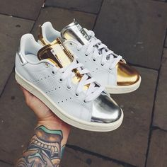 Instore Only // Adidas Stan Smith Metalic in both colors