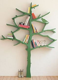 Repisas con forma de árbol