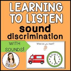 Boom Cards - Learning To Listen Sound Discrimination Listening Ears, Active Listening, Listening Skills, Listening Activities, Literacy Activities, Toddler Activities, Parent Coaching, Language Development, Early Literacy