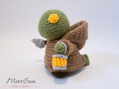 ~~~~~~~~~~~~~~~~~~~~~~~~~~~~~~~ ••THIS IS FOR A PATTERN ONLY!•• ~~~~~~~~~~~~~~~~~~~~~~~~~~~~~~~  Tonberry's are mysterious creatures found in the Final